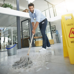 contact Building Services of America (BSA) for commercial cleaning services