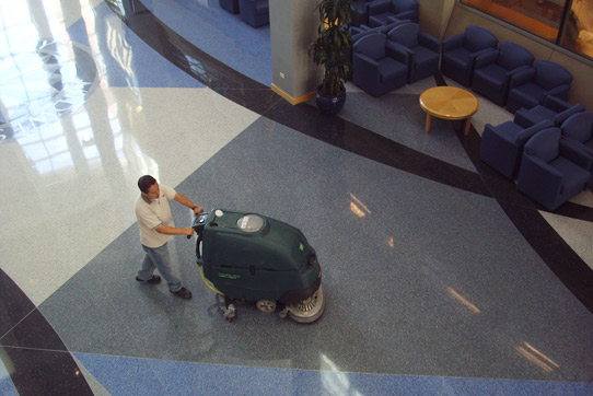 Building Services of America provides hard floor care services